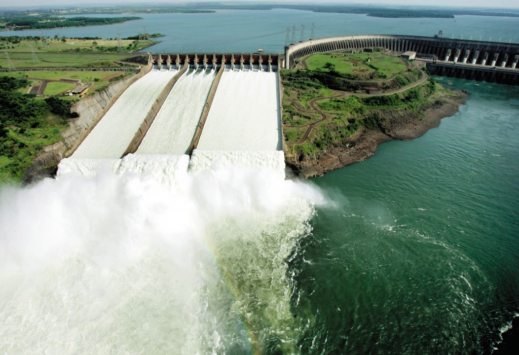 1. Hydro Project - 1980-2007 - Itaipu - Brazil - Run of river Dam - Turbines Francis (x6) & Generators SLV (x6) - For ITAIPU BINACIONAL (DAM)