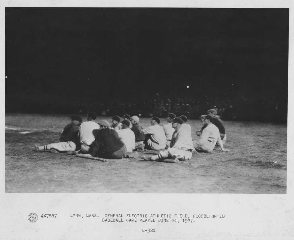 447587, Lynn Baseball Game, 1927
