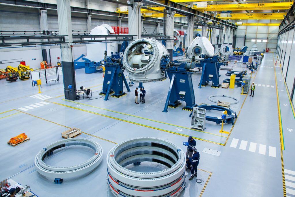Haliade 150 factory St Nazaire France
