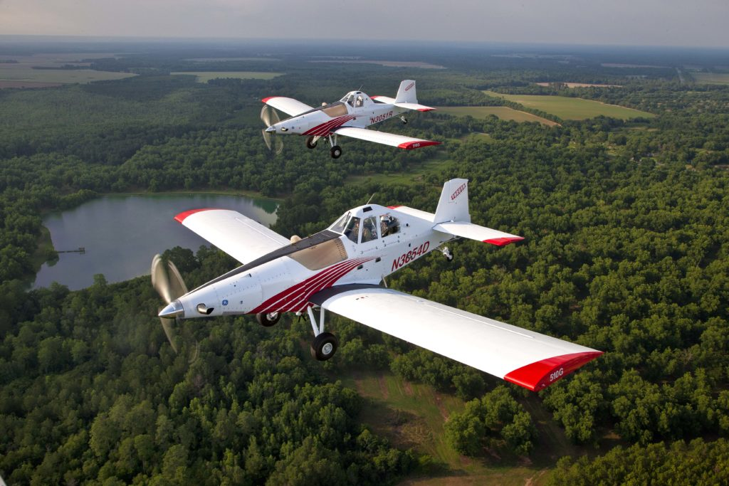 GE H80 engine enables Thrush airplanes higher maneuverability during agriculture operations. EEPC system with single lever to reduce pilot workload is to be certified in 2017