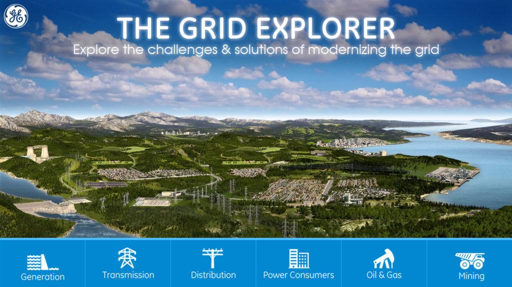 Grid Explorer App - Home Page