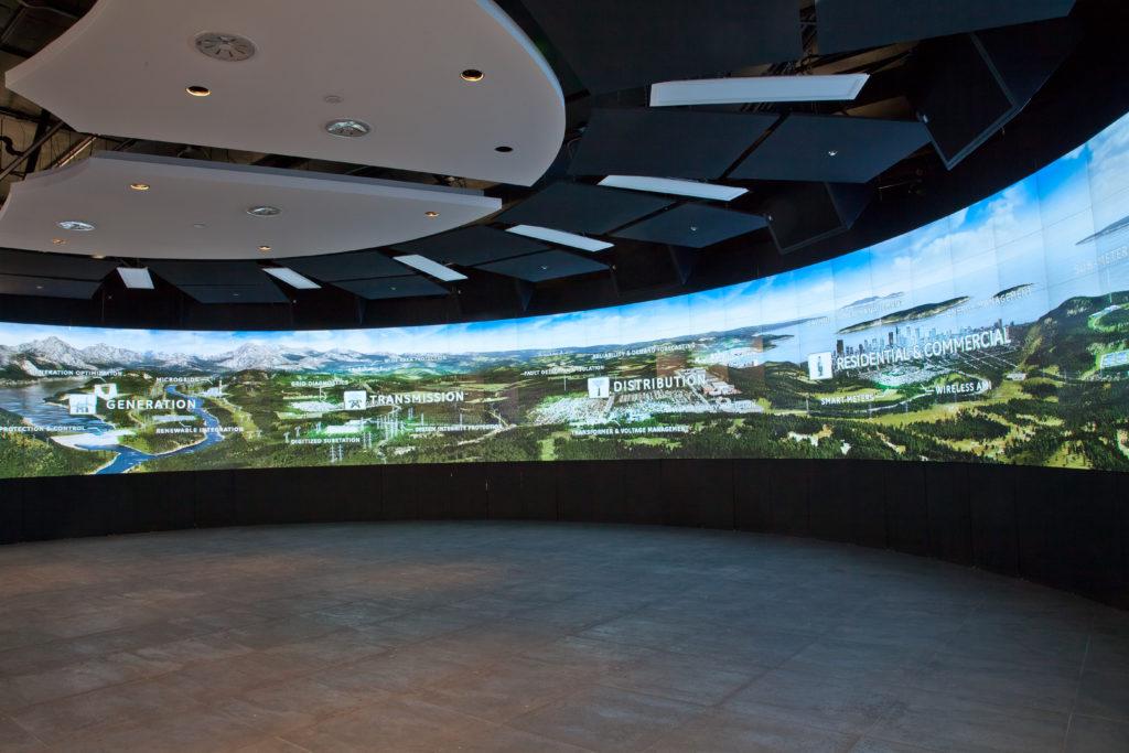 GridIQ Center - Grid Explorer Video Wall