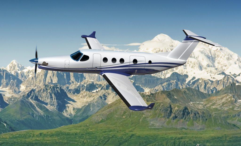 Cessna Denali_Aerial