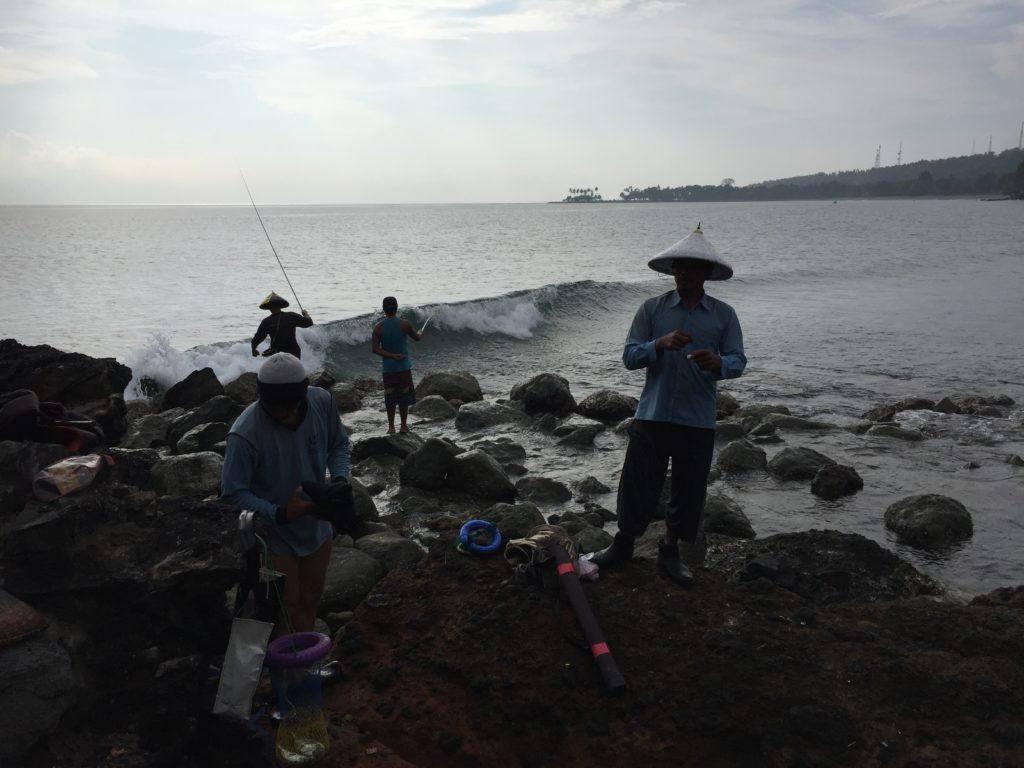 villagers lombok