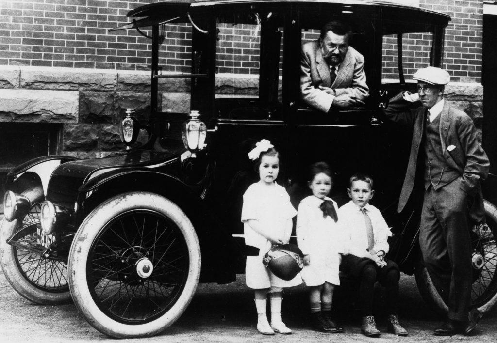 Steinmetz electric car 1914