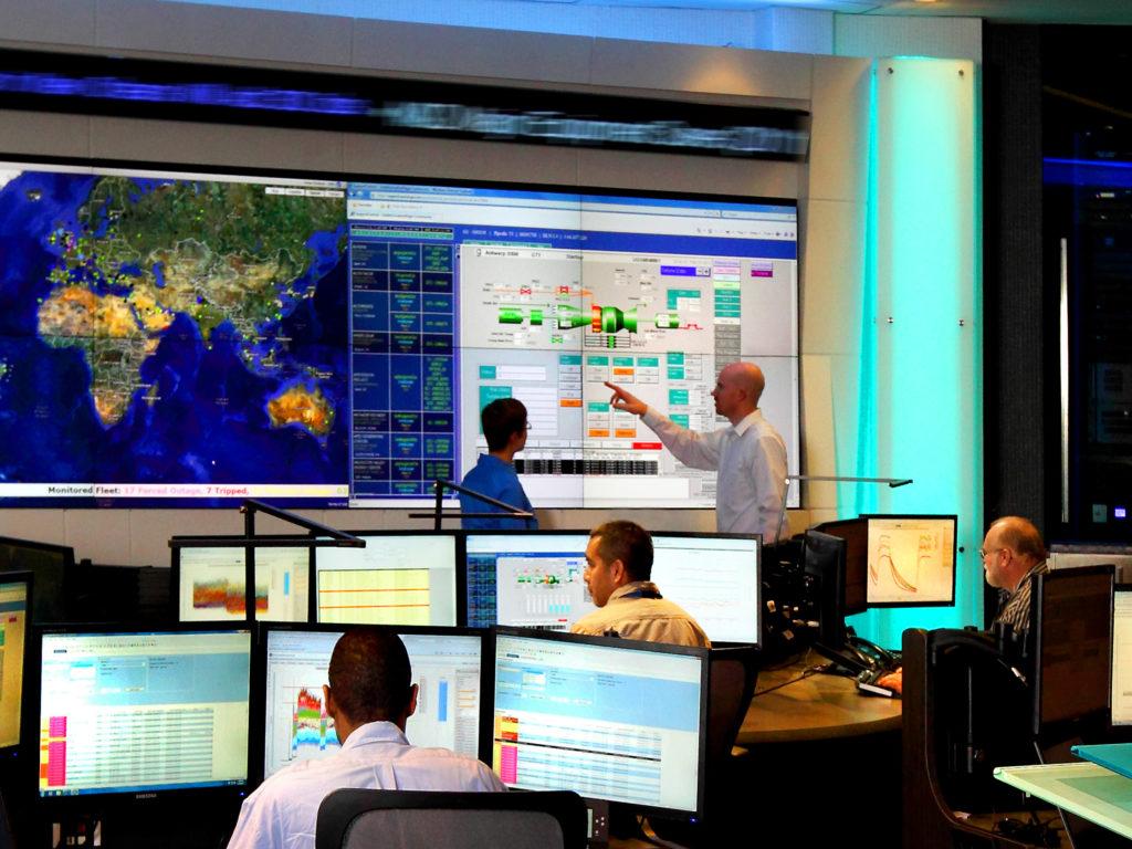 """PSP31215-00, Generation IQ Center, Monitoring and Diagnostics Center - Operations Atlanta DLN Remote Tuning, remote monitoring and diagnostics, M&D, Power Generation Services, Atlanta, GA, USA, PRA, DI-3800x5600"""