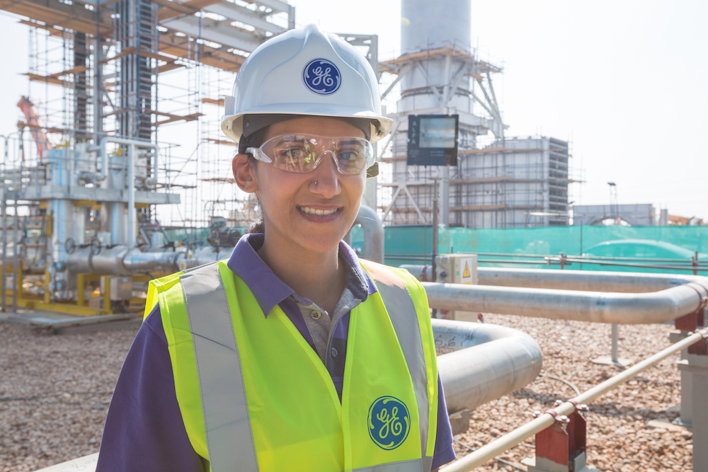 "Lobna Tawfiq was the only female Egyptian engineer to work on GE's Egypt mega deal. The electrical engineer, who was based in the remote site in Upper Egypt, helped add 1 gigawatt to the grid. ""The thing is, as a female, in general, we may tend to do the hard work and go the extra mile to prove ourselves equal. That's a very big benefit. [Women] have all that passion and all that will to prove themselves. That makes everything better."""