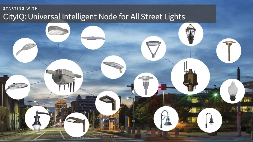 Over the next year, San Diego plans to replace 14,000 lights with LED fixtures, and 3,600 of those will be equipped with new intelligent nodes.