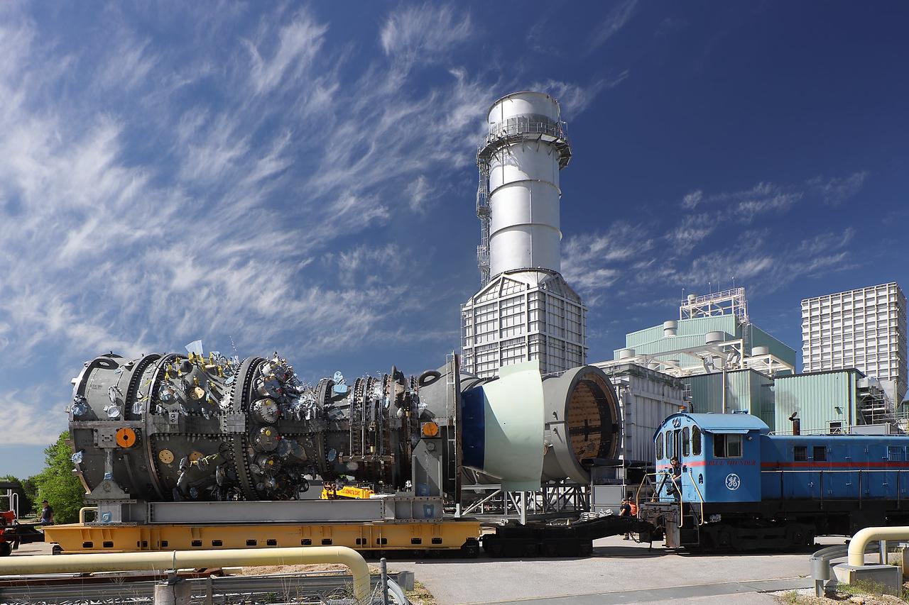 GE GAs Power Greenville HA Turbine