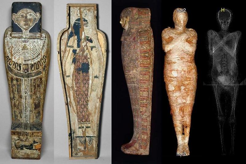 Coffin Cartonnage case