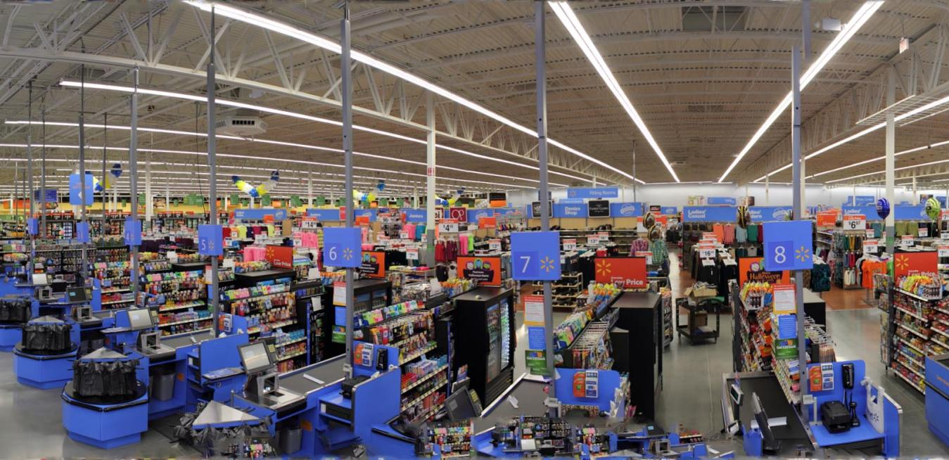 Led There Be Light Walmart Is Sprucing Up Stores Driving Down Bills With New Lights Ge News