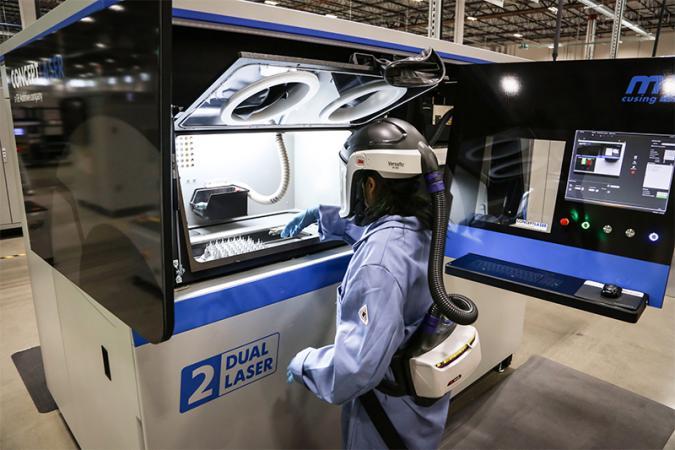 GE Additive Concept Laser machine