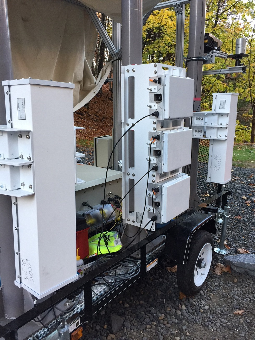 Radiation detection system built at GE Research
