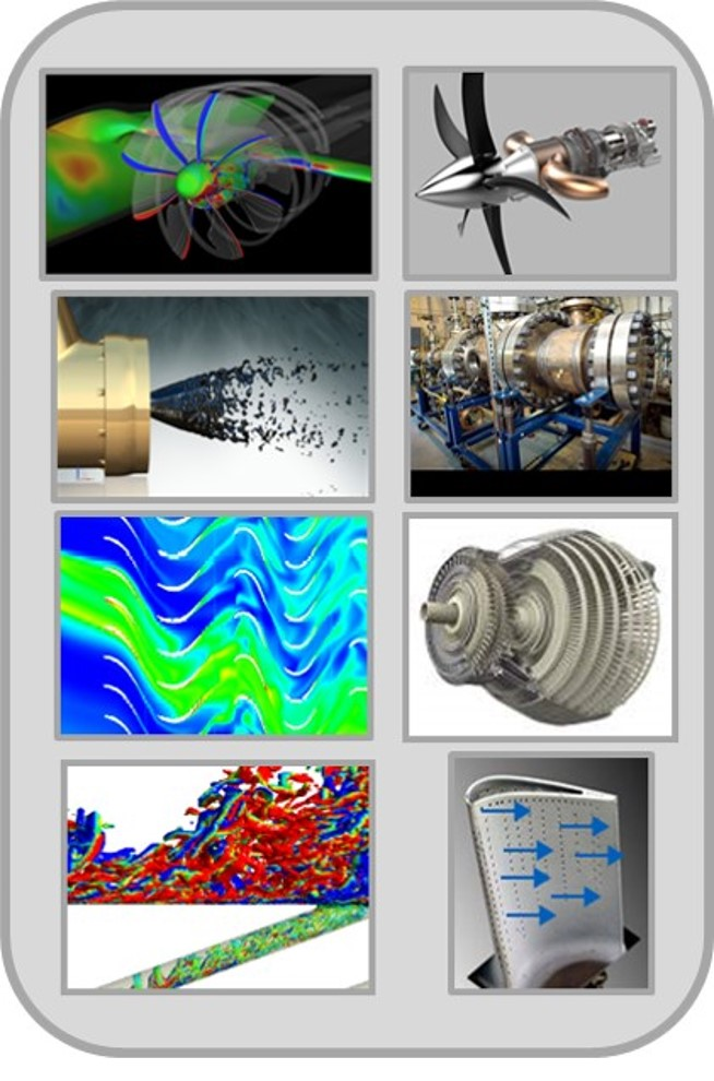 A sampling of Thermosciences projects